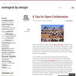 6 Tips for Open Collaboration