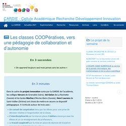 CARDIE - Cellule Académique Recherche Développement Innovation Expérimentation