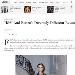 H&M Kenzo Collaboration Chloe Sevigny Iman Carol Lim Interview