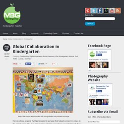 Global Collaboration in Kindergarten