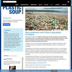 New collaboration with G-Star to stop plastic microfibers - Plastic Soup Foundation