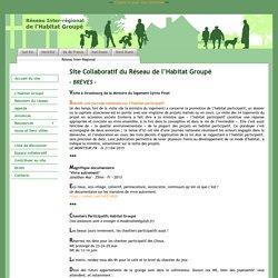 Réseau inter-régional de l'Habitat Groupé