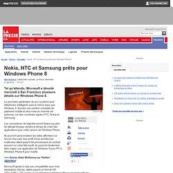 Nokia, HTC et Samsung prêts pour Windows Phone 8