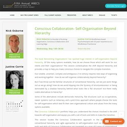 Conscious Collaboration- Self-Organisation Beyond Hierarchy