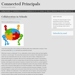 Collaboration in Schools