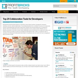 Top 25 Collaboration Tools for Developers
