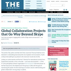Global Collaboration Projects that Go Way Beyond Skype