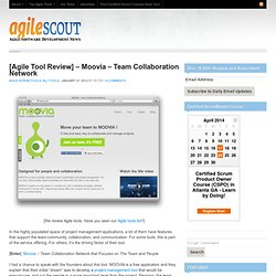[Agile Tool Review] - Moovia - Team Collaboration Network