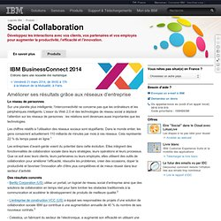 IBM - Collaboration sociale