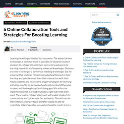 6 Online Collaboration Tools and Strategies For Boosting Learning