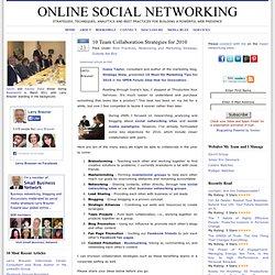 10 Team Collaboration Techniques for 2010