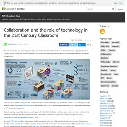 Collaboration and the role of technology in the 21st Century Classroom – NZ Education Blog