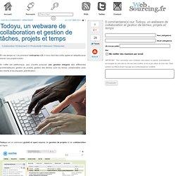 Todoyu, un webware de collaboration et gestion de tâches, projets et temps