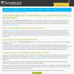 Plateforme collaborative - Les avantages d'une application collaborative pour votre entreprise