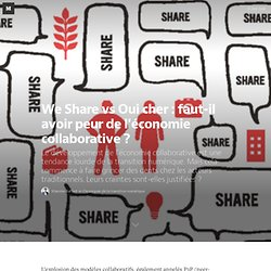 We Share vs Oui cher : faut-il avoir peur de l'économie collaborative ? — Chroniques de la transition numérique
