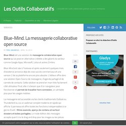 Blue-Mind. La messagerie collaborative open source - Les Outils Collaboratifs