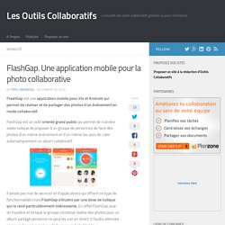 FlashGap. Une application mobile pour la photo collaborative
