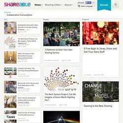 News: Economy: Collaborative Consumption