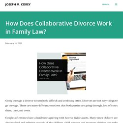 How Does Collaborative Divorce work