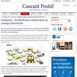 Gridmates : la plateforme collaborative de partage d'électricité
