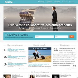 l'université collaborative des entrepreneurs