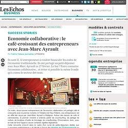 Economie collaborative : le café-croissant des entrepreneurs avec Jean-Marc Ayrault