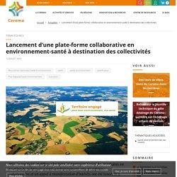 Lancement d'une plate-forme collaborative en environnement ...