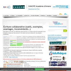 L'écriture collaborative |