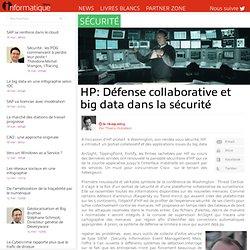 G4 : Défense collaborative et big data dans la sécurité
