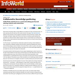 Collaborative knowledge gardening | InfoWorld | Test Center | Au