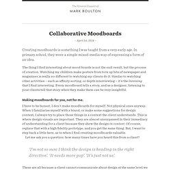 llaborative Moodboards