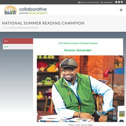Collaborative Summer Library Program – National Summer Reading Champion