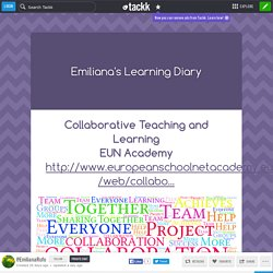 MOOC - Cooperative in Teaching and Learning - Teacher Academy - My Learning Diary