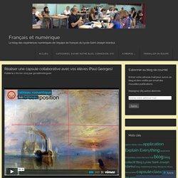 Réaliser une capsule collaborative avec vos élèves (Paul Georges)