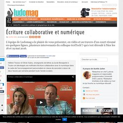 Écriture collaborative et numérique