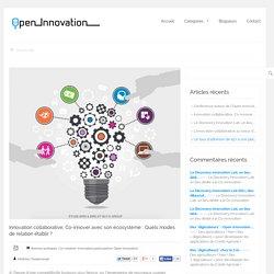 Innovation collaborative, Co-innover avec son écosystème : Quels modes de relation établir ?