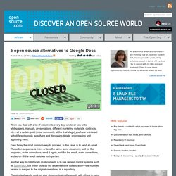 5 open source collaborative text editors