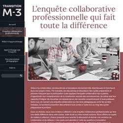 L'enquête collaborative professionnelle qui fait toute la différence