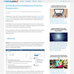 8 of the Best Free Collaborative Tools For Programmers