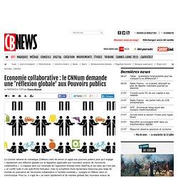 Economie collaborative : le CNNum demande une 'réflexion globale' aux Pouvoirs publics