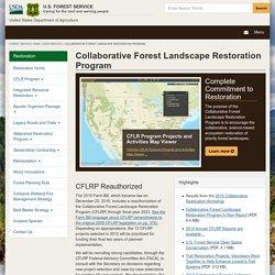 Collaborative Forest Landscape Restoration Program