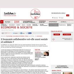 L'économie collaborative est-elle aussi sociale et solidaire