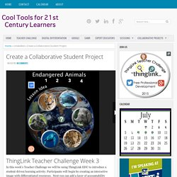 Create a Collaborative Student Project