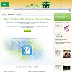 SMART Notebook logiciel d'apprentissage collaboratif