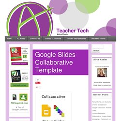 Google Slides Collaborative Template - Teacher Tech