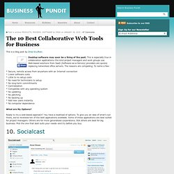 The 10 Best Collaborative Web Tools for Business
