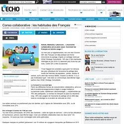 Conso collaborative : les habitudes des Français - L'Echo Touristique