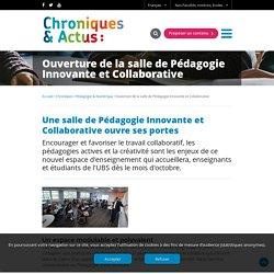Ouverture de la salle de Pédagogie Innovante et Collaborative - Université Bretagne Sud