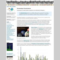 Collaborative Intelligence – Knowledge Visualization, IBM Manay Eyes, visual analytics, Katy Borner, Zann Gill