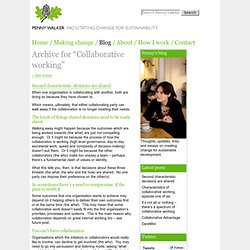 llaborative working — Penny Walker's blog